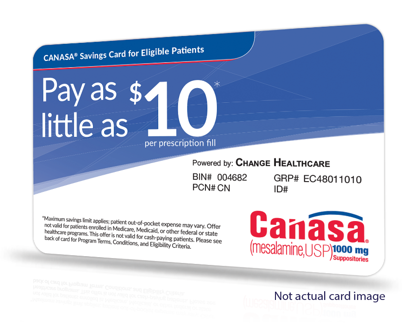 CANASA (mesalamine) Savings Program